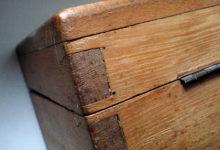 Skrzyneczka drewniana, robiona ręcznie.